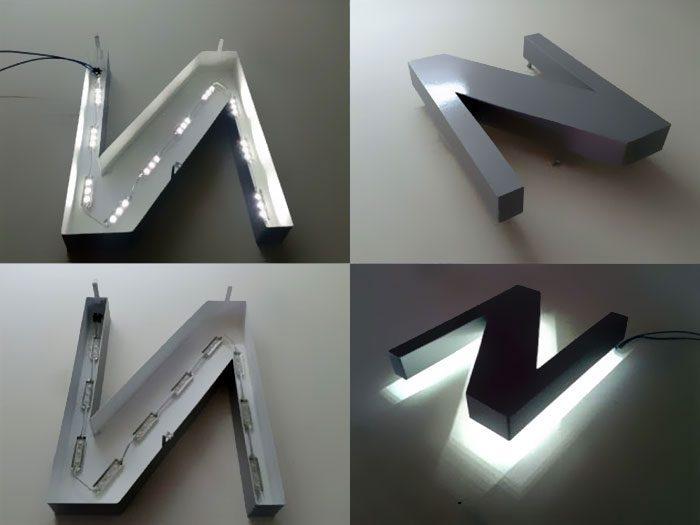 تابلو فلزی نور اندریک
