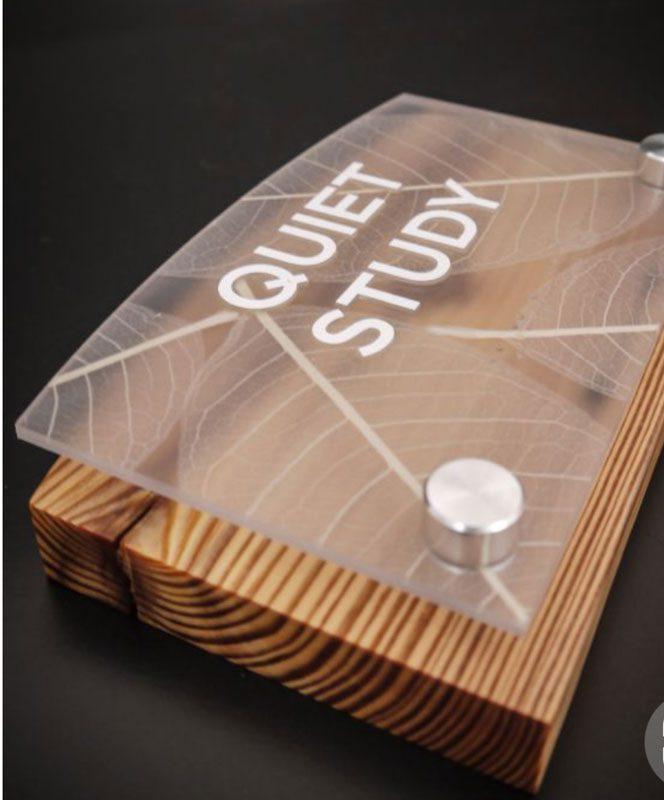 تابلو پشت در چوبی با پایه فیکسچر