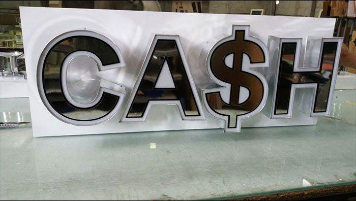 تابلو چلنیوم cash