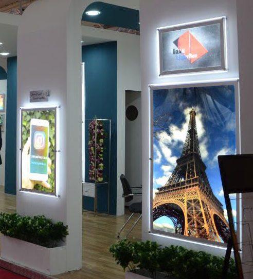 لایت باکس اسنپ فریم نمایشگاهی