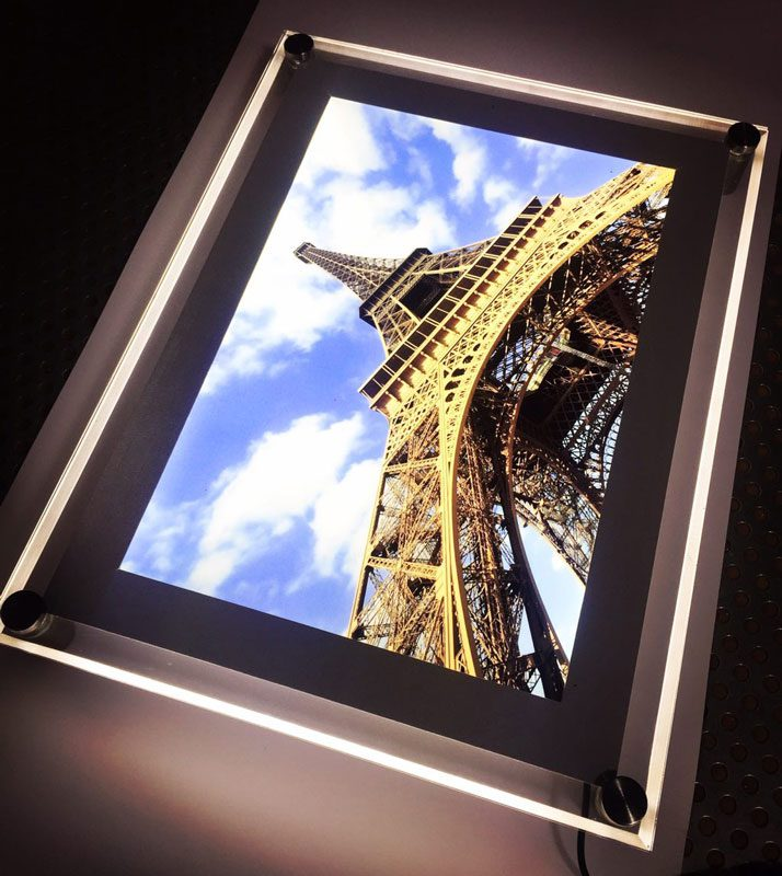 لایت باکس کریستالی برج ایفل