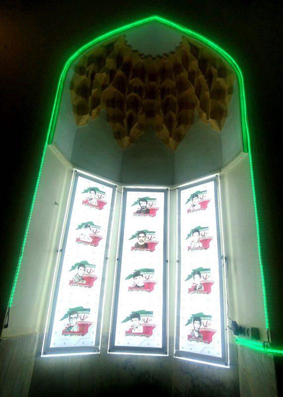لایت باکس کریستالی محراب مسجد