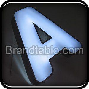 حروف برجسته استیل پلاست آگاما ۲ a