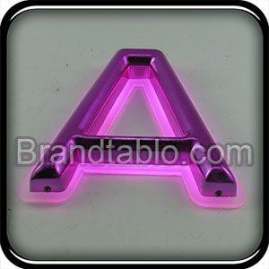 حروف برجسته وکیوم سه بعدی آبکاری نور مخفی a
