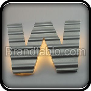حروف برجسته وکیوم سه بعدی ایرانیتی a