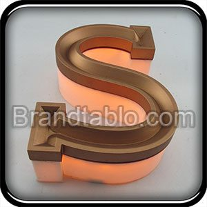حروف برجسته وکیوم سه بعدی عمقی 1 a