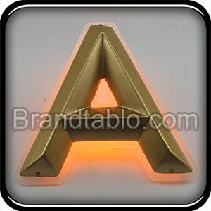 حروف برجسته وکیوم مخروطی نور مخفی (2) a