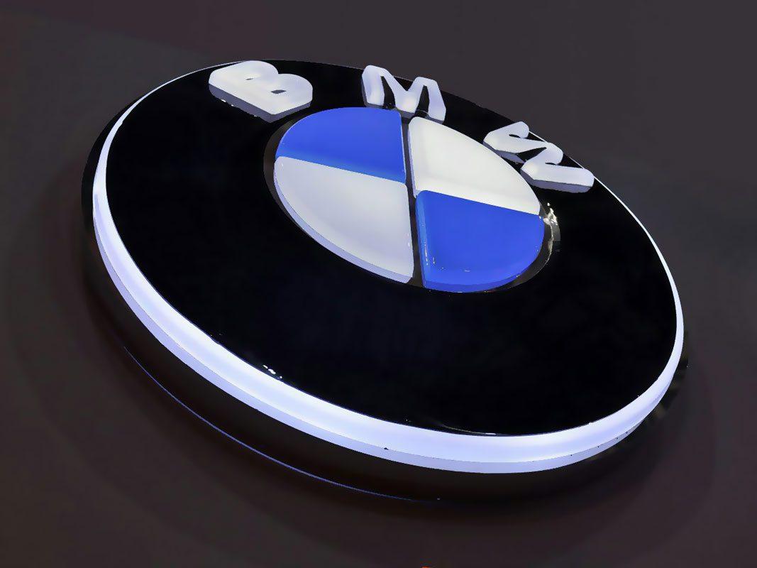 سفارش طراحی و ساخت لوگوهای حجمی و سه بعدی نور دار با تکنولوژی وکیوم برجسته